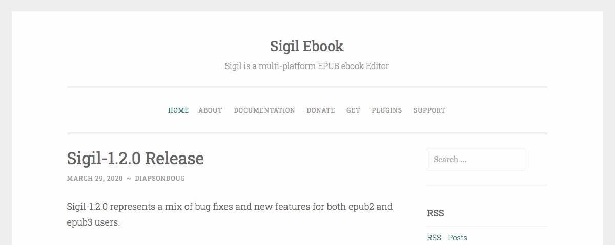 Sigil Ebook